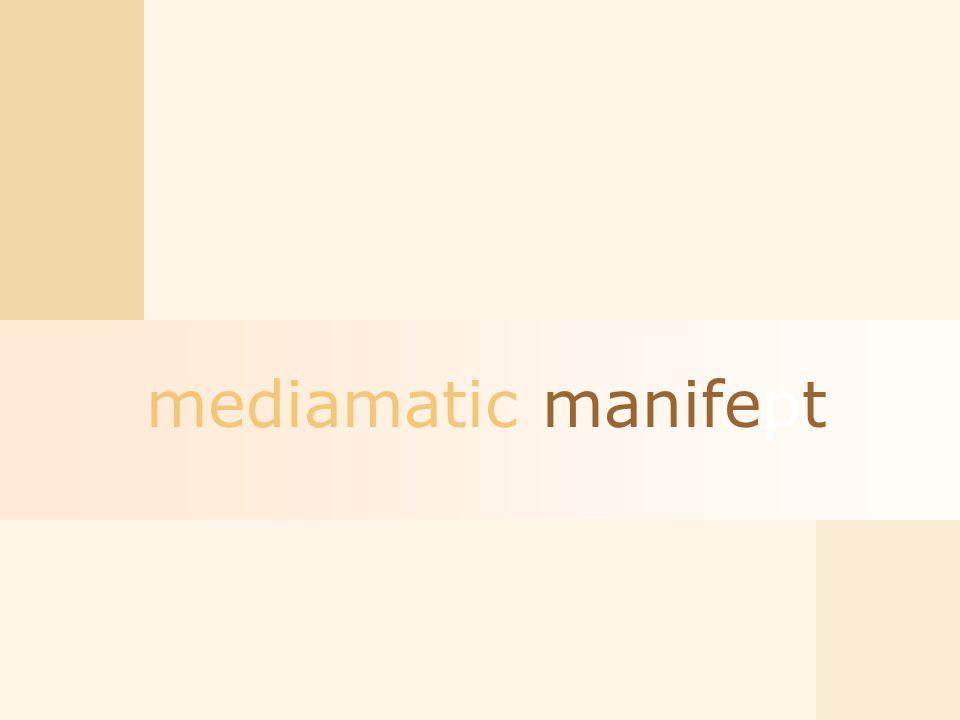 mediamatic manifept