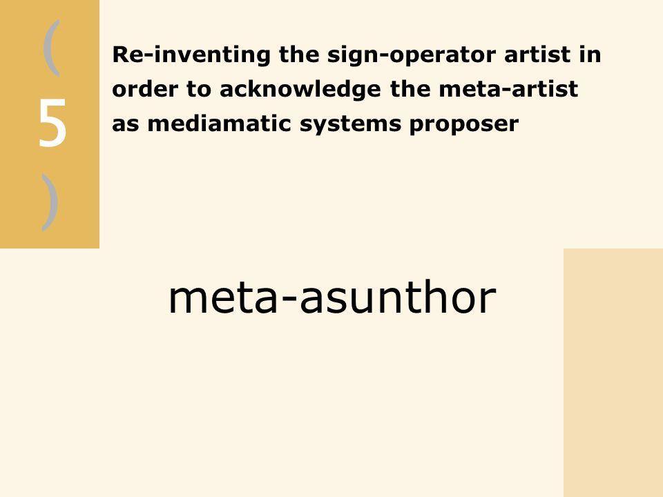 (5)(5) meta-asunthor