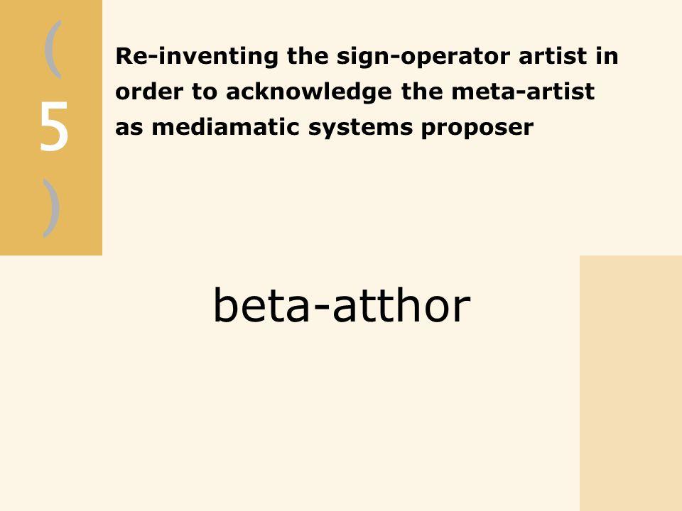 (5)(5) beta-atthor