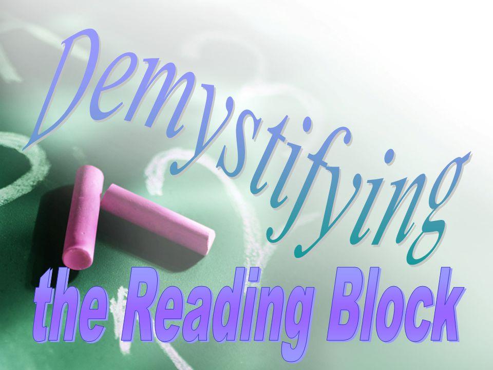 The Reading Block: Phonics Instruction c a t