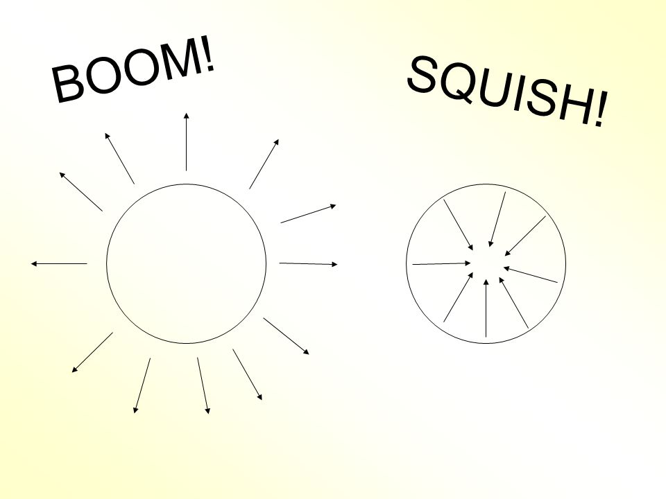 BOOM! SQUISH!