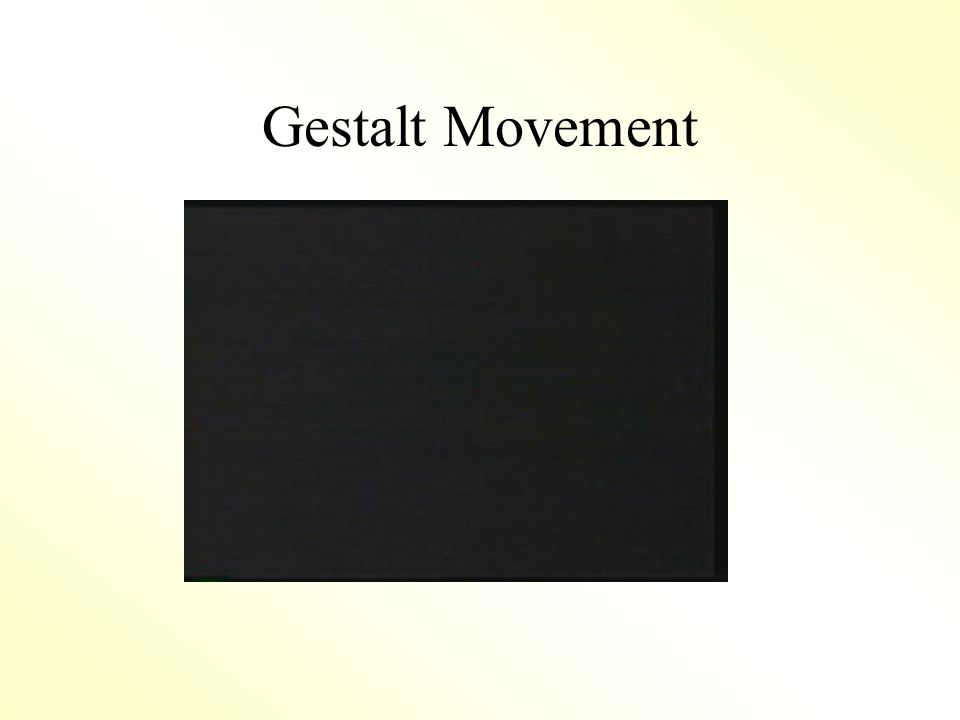 Gestalt Movement
