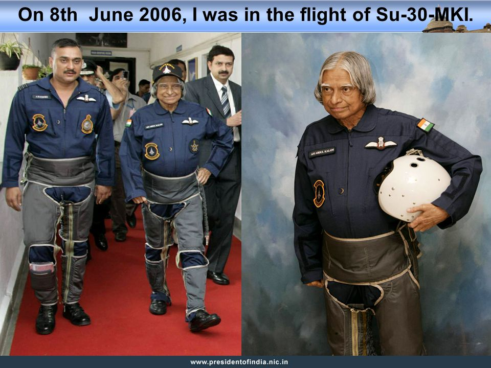 On 8th June 2006, I was in the flight of Su-30-MKI.