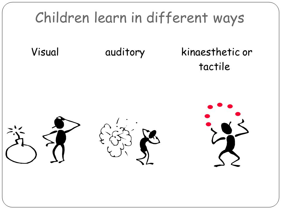 Opportunities for the visual learner