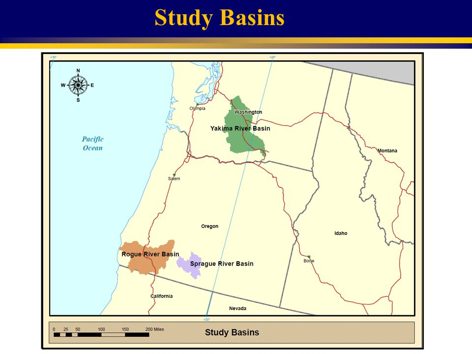 Study Basins