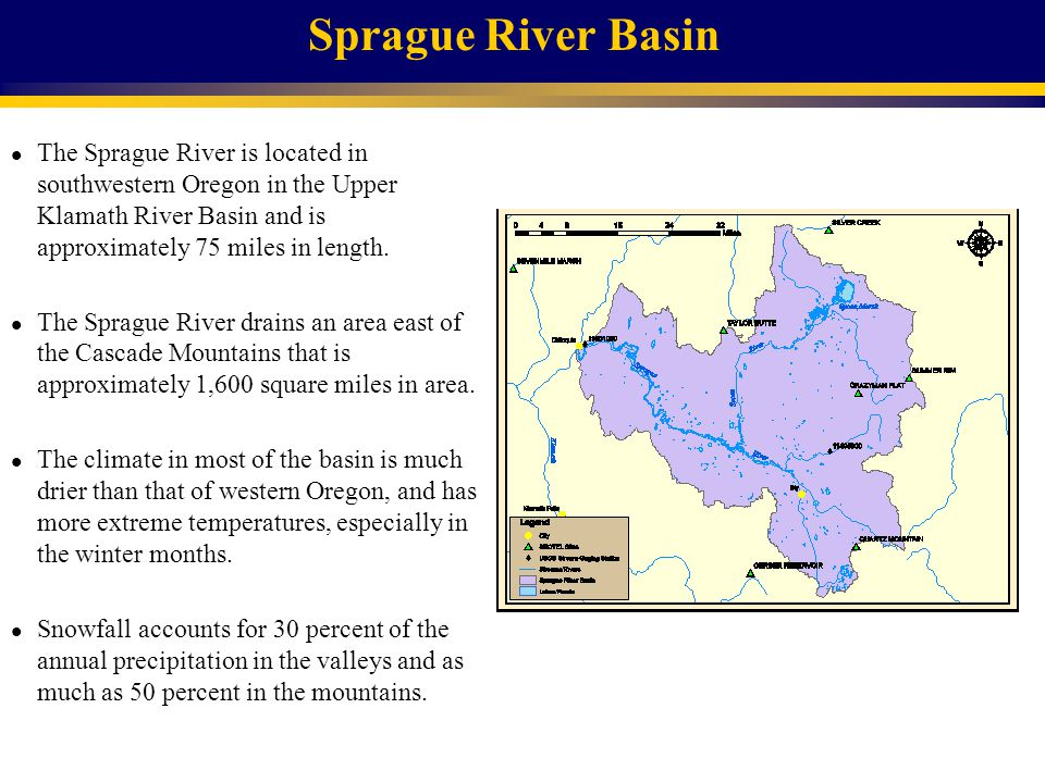 Rogue River Basin l The Rogue River is located in southwestern Oregon in the Rogue River Basin and is approximately 220 miles in length.