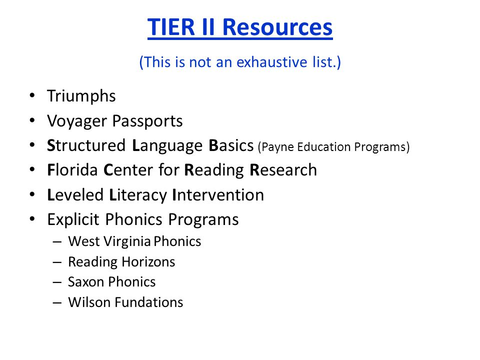 Triumphs Voyager Passports Structured Language Basics (Payne Education Programs) Florida Center for Reading Research Leveled Literacy Intervention Exp