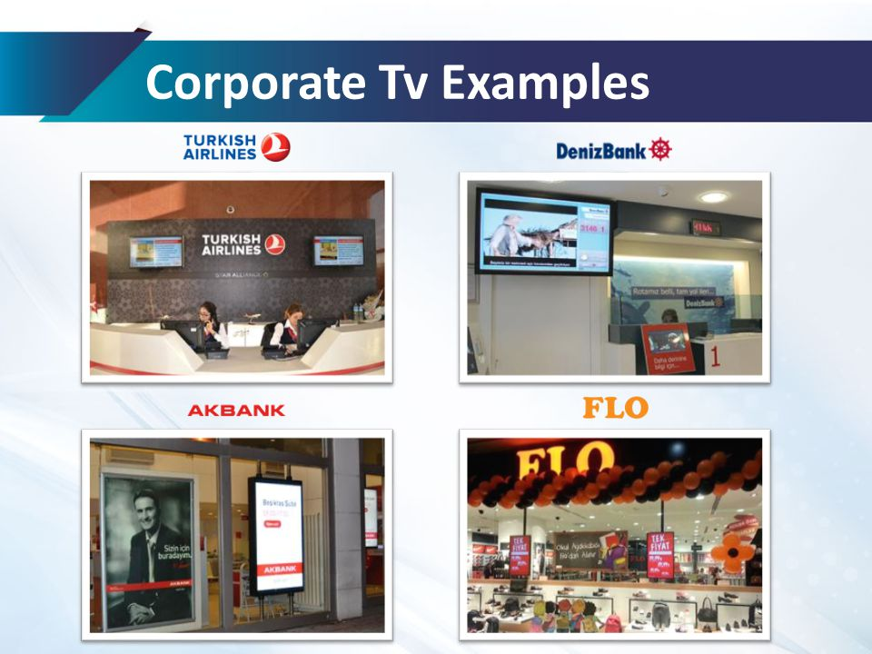 Corporate Tv Examples
