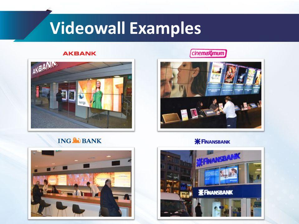 Videowall Examples