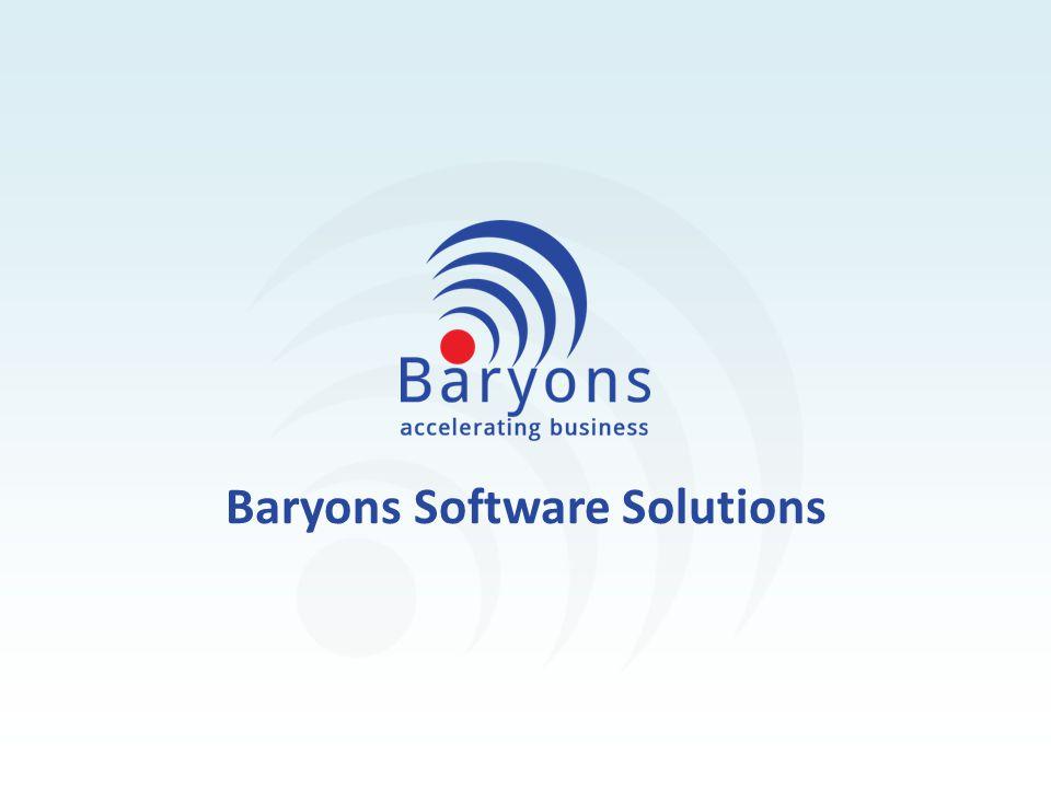Baryons Software Solutions