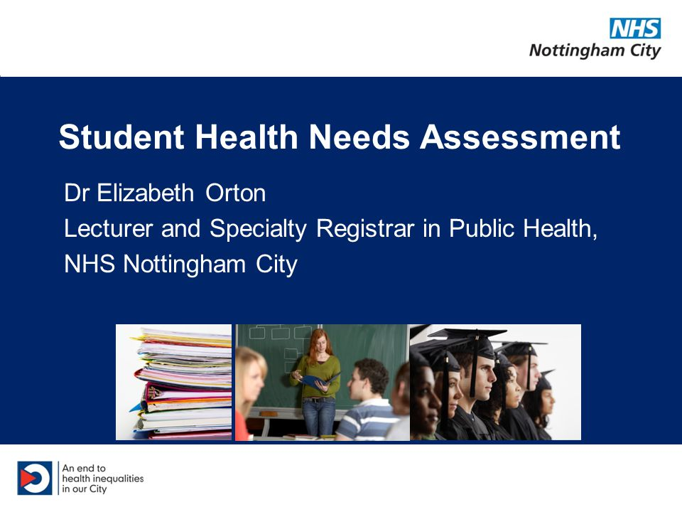 What is a health needs assessment.