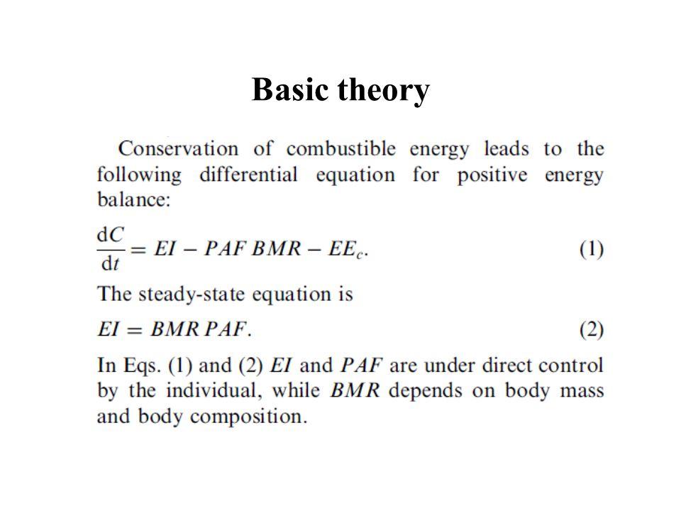 Basic theory