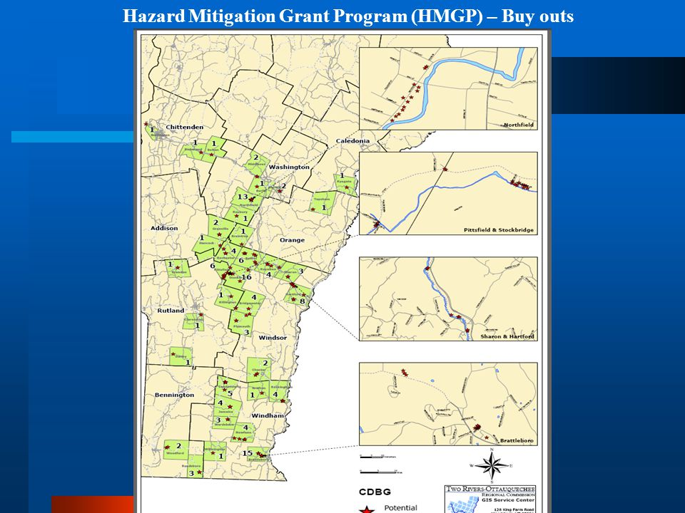 Hazard Mitigation Grant Program (HMGP) – Buy outs