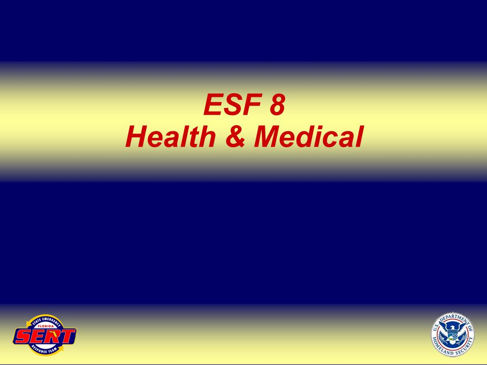 ESF 8 Health & Medical Up Next – ESF 10
