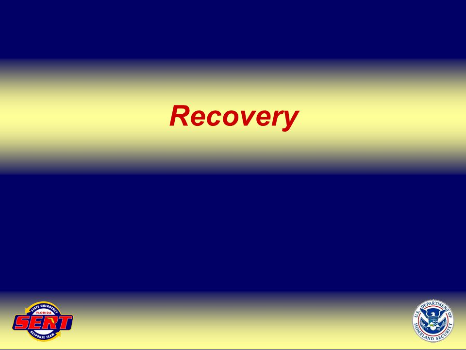 Recovery Up Next – SERT Chief