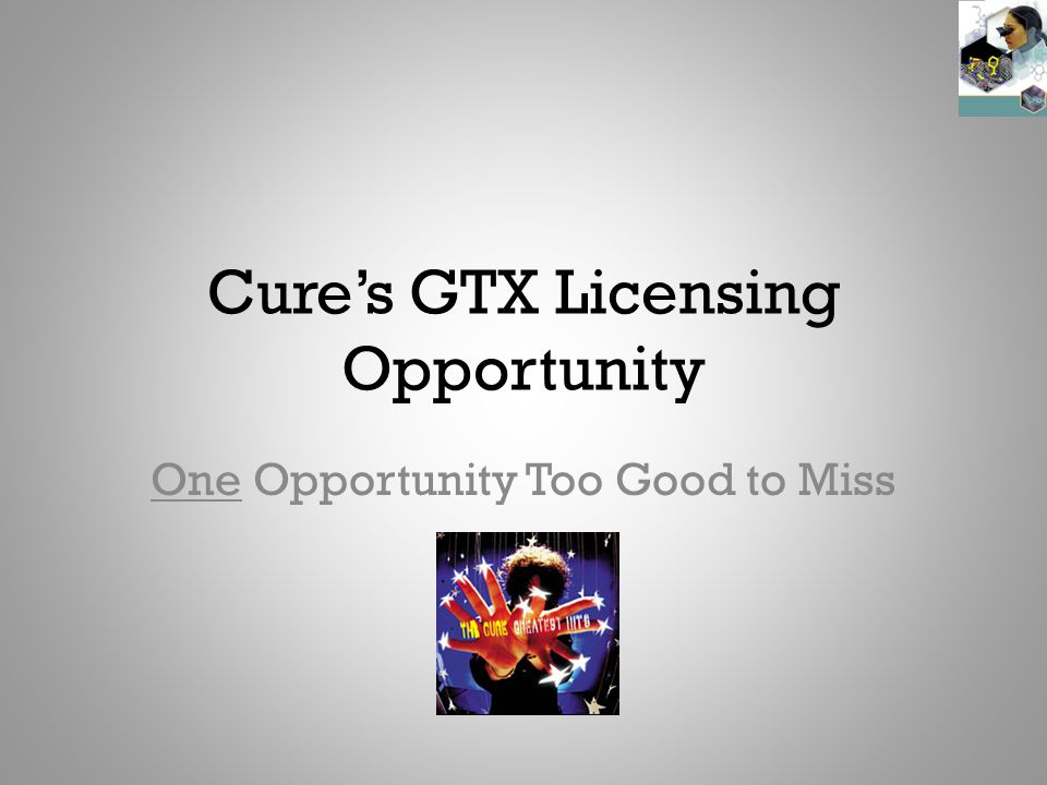 Summary Cure is considering licensing from Gastrex two potential new drugs to treat Crohn's Disease and Ulcerative Colitis GTX-001 is a biologic that may be easier to administer and have fewer side effects than biologics currently in use If successful in trials, GTX- 001 is likely to be preferred over existing treatments at a price point making licensing profitable GTX-002 is a small molecule kinase inhibitor that may be effective in combination with steroids and/or 5-ASAs, and may replace immuno- modulators for Crohn's If successful in trials, GTX-002 is likely to be preferred over existing treatments, but at a price too low to make licensing profitable November 2009J, P, Morgan and Associates2 Recommendation: Cure should license GTX-001, but not GTX-002 from Gastrex
