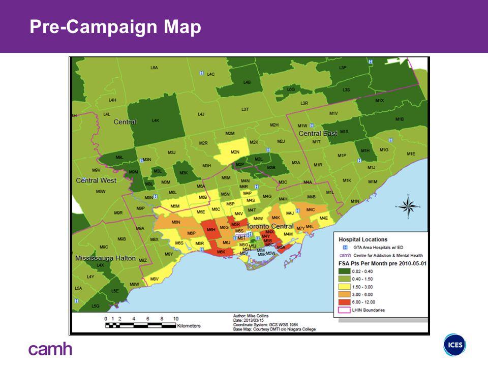 Pre-Campaign Map