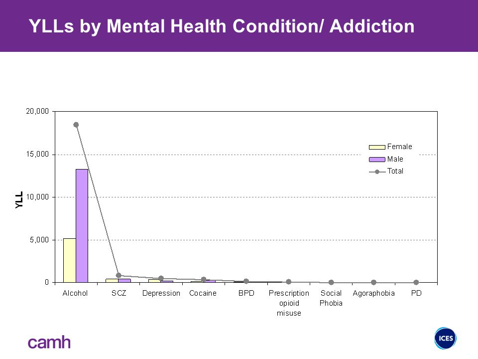 YERF by Mental Health Condition/ Addiction YERFs by Mental Health Condition/ Addiction
