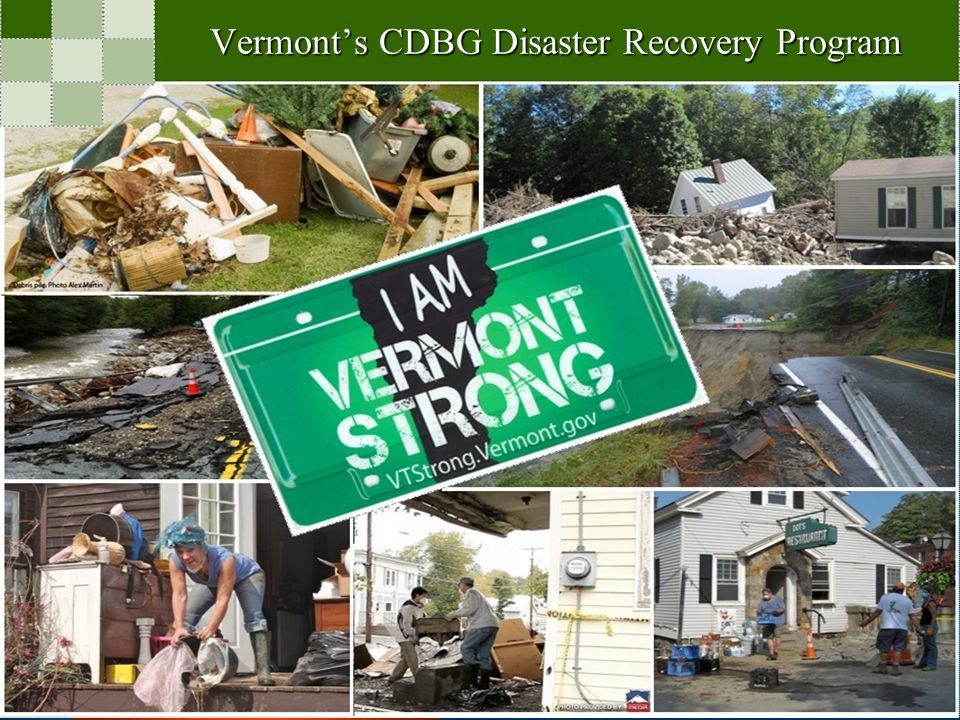 Community Development Block Grant – Disaster Recovery (CDBG-DR) Action Plan considered a living document –Will be amended as new information and data is identified –Will be amended once additional specific projects are awarded (Competitive funds) Substantial Amendments –Change in Program benefit or eligibility –Allocation or re-allocation of $1 million –Deletion or addition of an activity