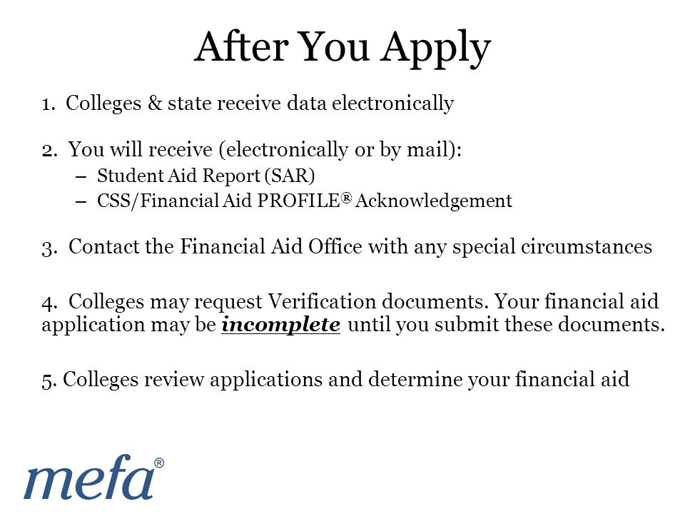 1. Colleges & state receive data electronically 2.