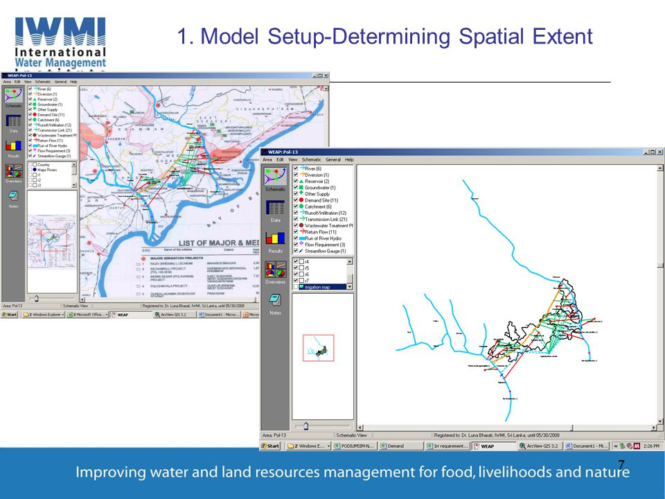 7 1. Model Setup-Determining Spatial Extent