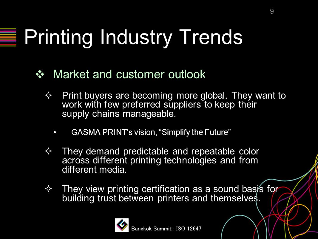 New Rules of the Game ❖ What do these changes mean to a printing company.