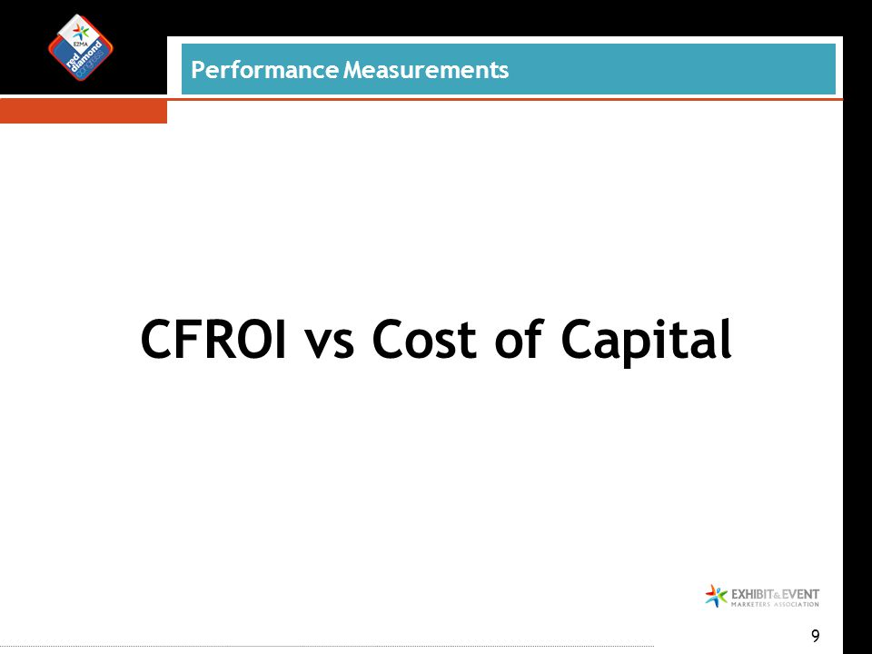 9 CFROI vs Cost of Capital Performance Measurements