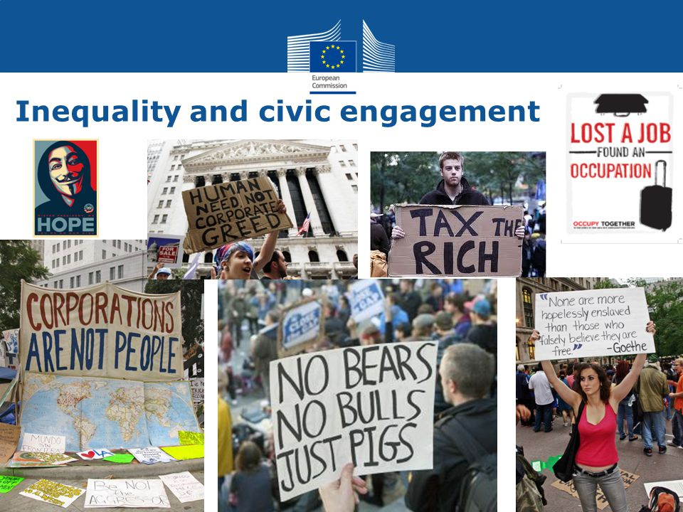 Social Europe Poverty and exclusion Now: South/East divide, 115 million at risk of poverty or social exclusion Target: at least 20 million fewer National commitments: 12 million