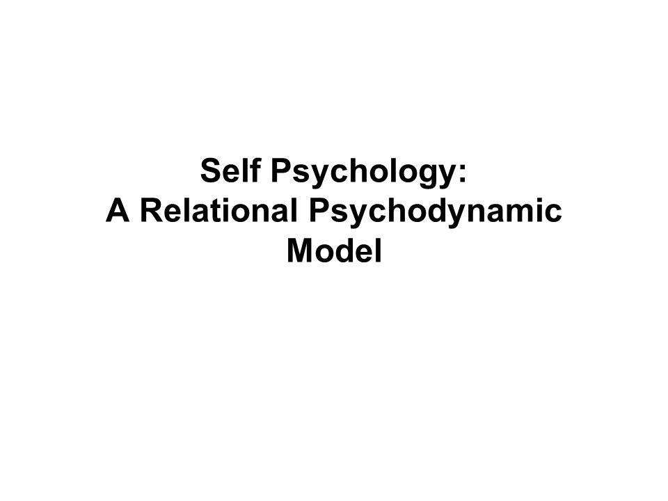 Self Psychology: A Relational Psychodynamic Model