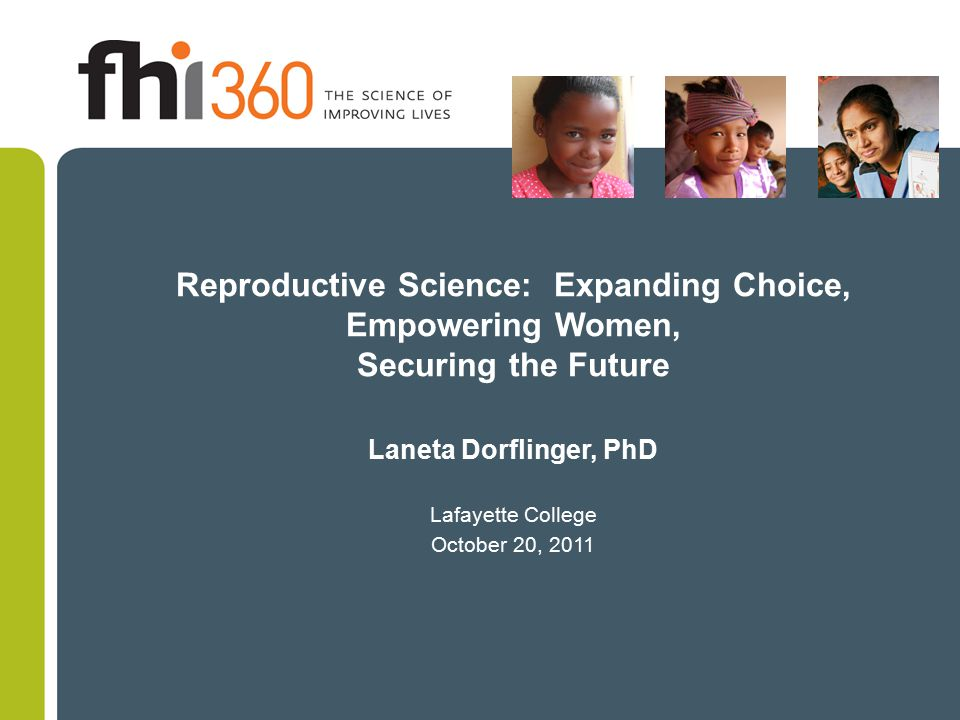 Unintended pregnancies among women with HIV in Africa 51% of pregnancies are unintended among women with HIV in Cote d'Ivoire 74% of pregnancies are unintended among women in an ART treatment program in Rwanda 84% of pregnancies are unintended among women using PMTCT services in South Africa Sources: Rochat et al., JAMA 2006:295:1376-8; Desgrées-du-Loû et al., Int J STD AIDS 2002;13:462-468; Bangendanye, et al., Presented November 2007.