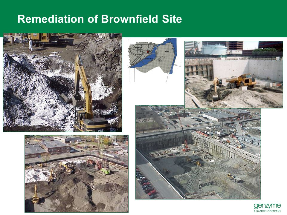 Remediation of Brownfield Site