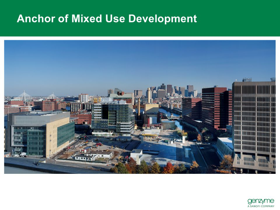 Anchor of Mixed Use Development