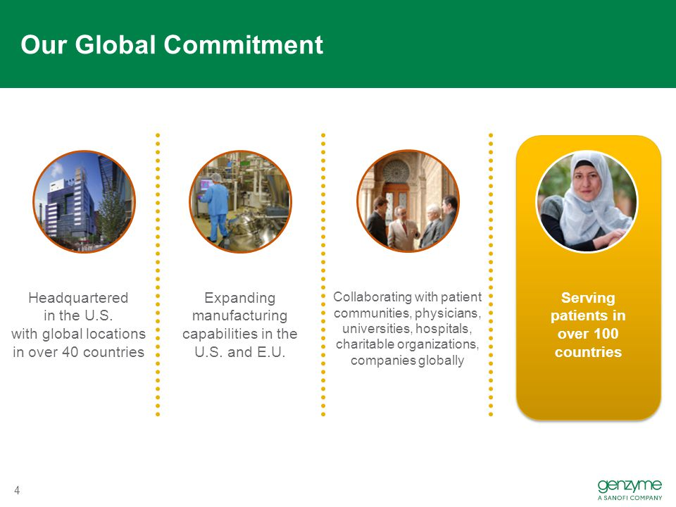 Our Global Commitment 4 Headquartered in the U.S. with global locations in over 40 countries Expanding manufacturing capabilities in the U.S. and E.U.