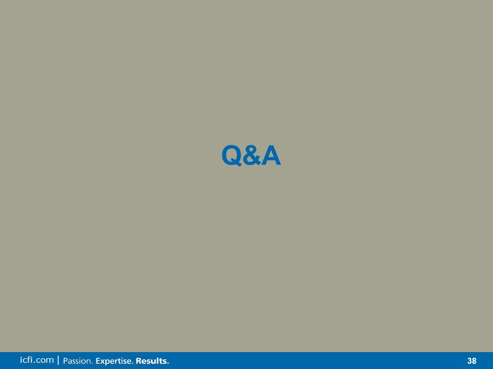 38 icfi.com | Q&A