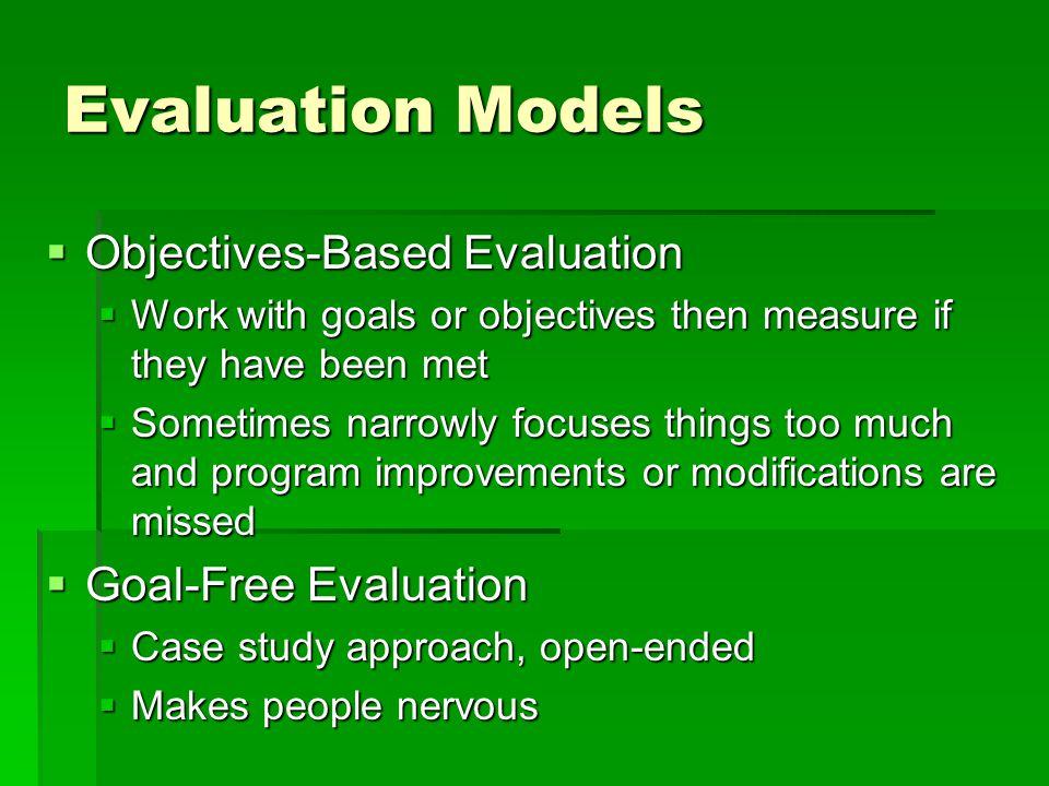 Who Hires Professional Evaluators.