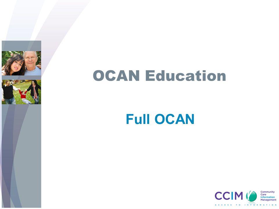 OCAN Education Full OCAN