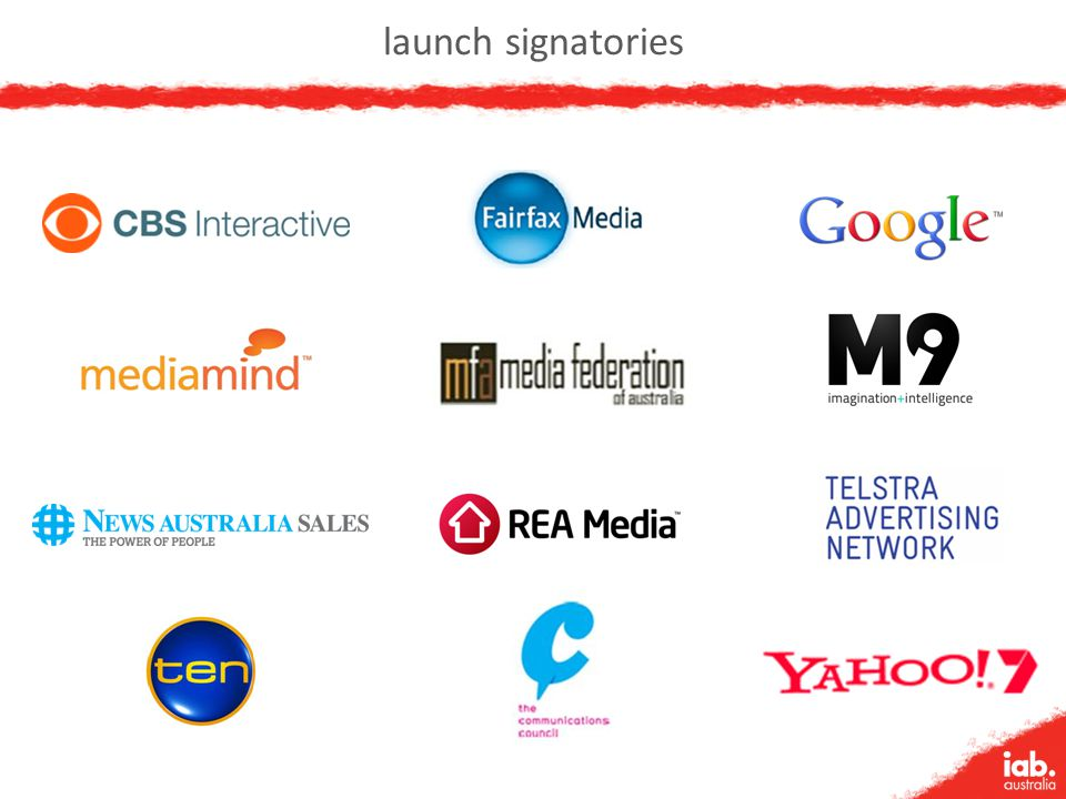 launch signatories