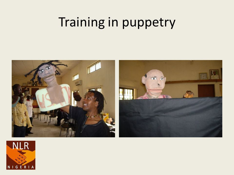 Training in puppetry