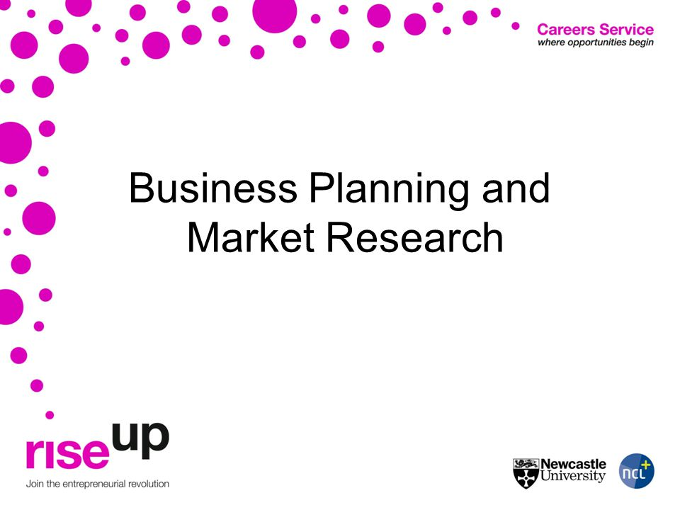 Business Planning and Market Research