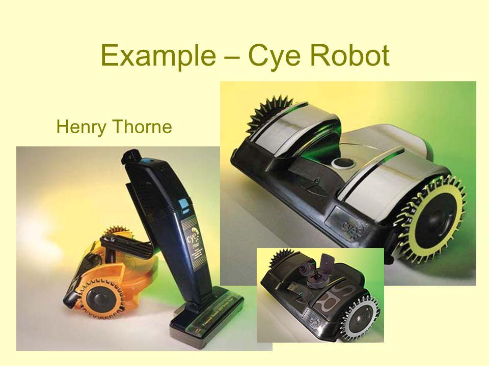 Example – Cye Robot Henry Thorne