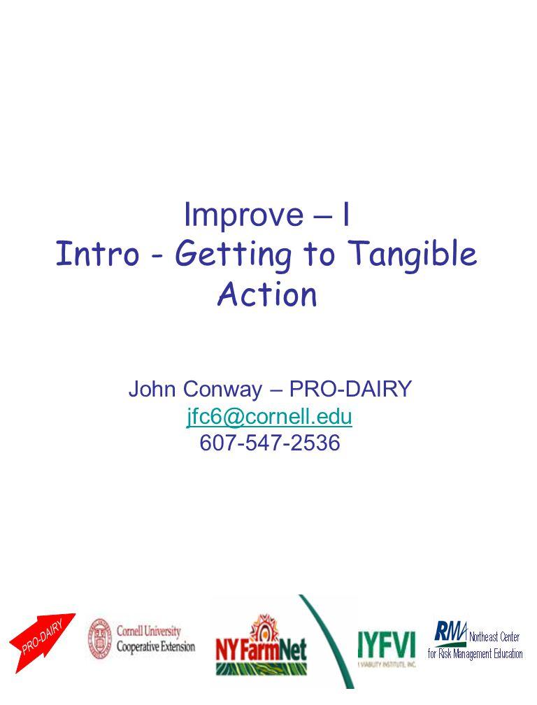 Speaker Notes: Title slide for Improve – III.