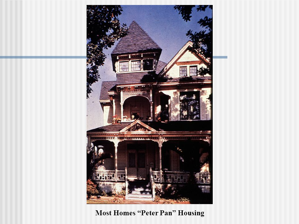 Most Homes Peter Pan Housing