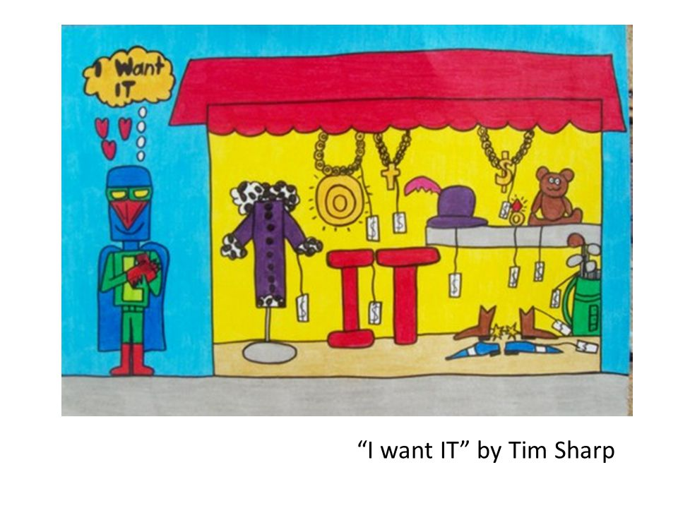 I want IT by Tim Sharp