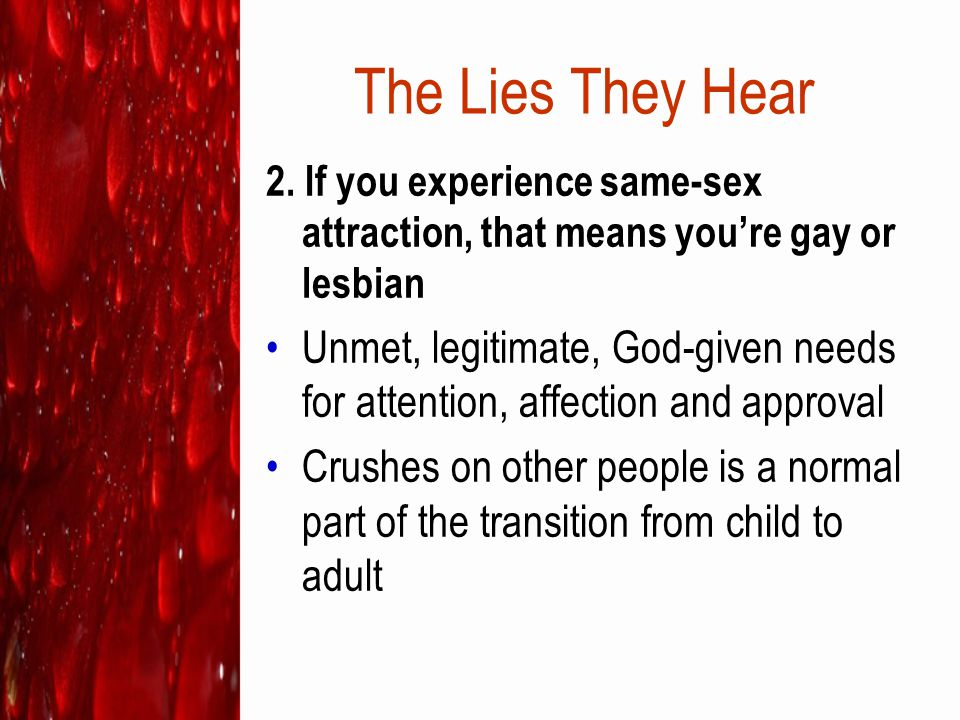 Jesus loves people who struggle with same-sex attraction