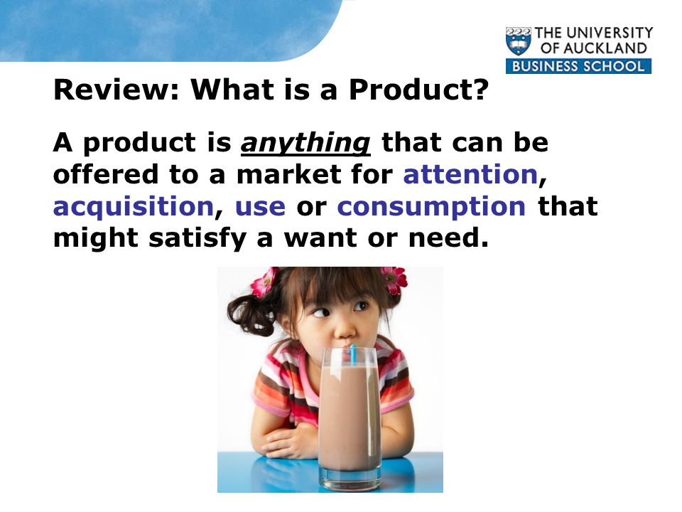 Review: What is a Product.
