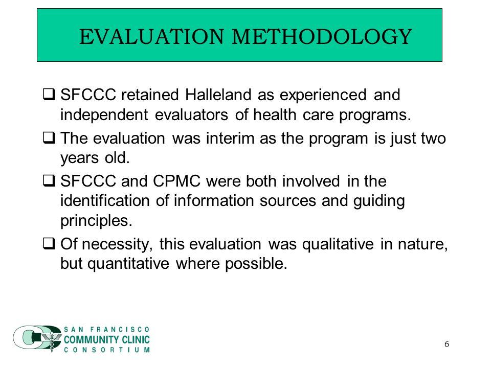 17  Key Indicators  Funding supported existing community clinics.