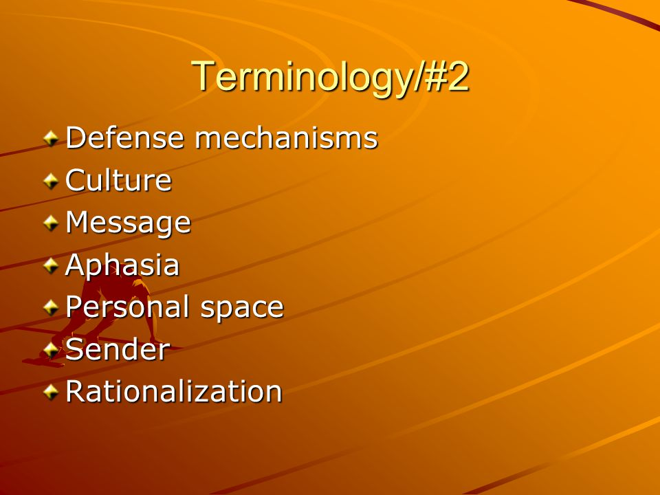 Terminology/#3 ReceiverSocial Maslow's Hierarchy of Needs Regression