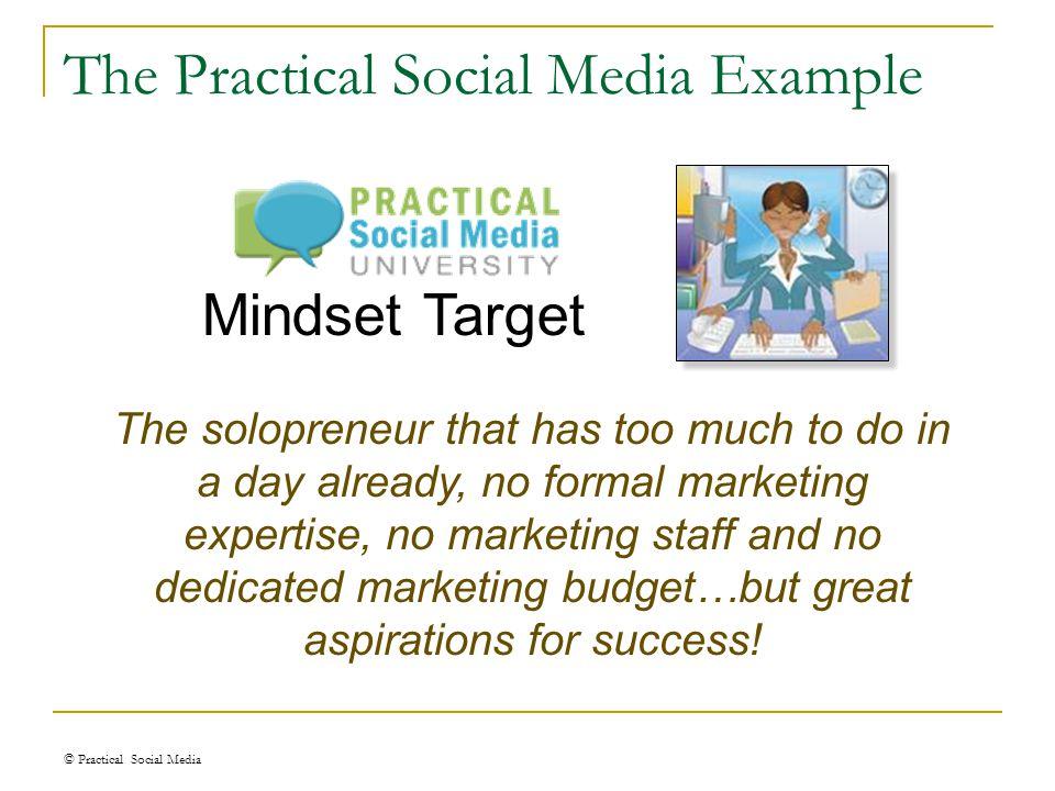 Mindset Market © Practical Social Media Enter your Mindset Market here!