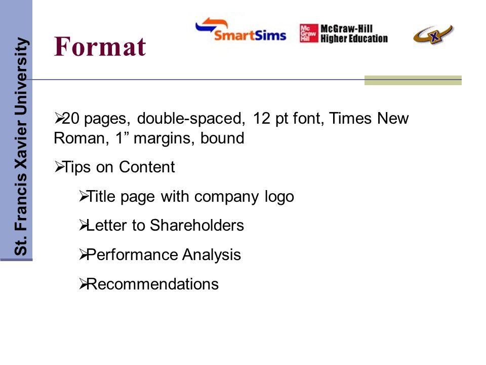 Format St.