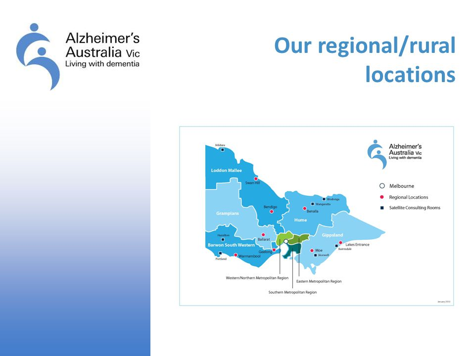 Our regional/rural locations